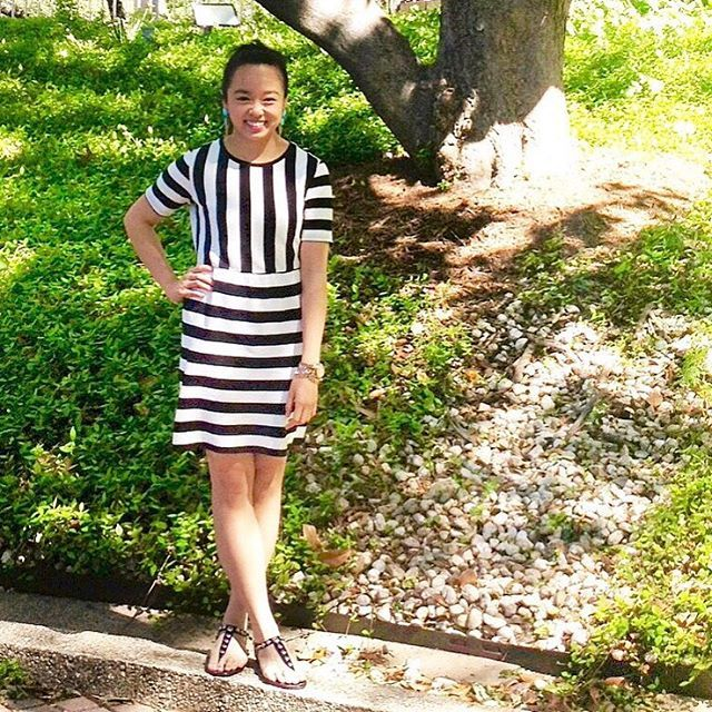 #Throwback to one of the comfiest dresses I owned except I had to give it away because I accidentally shrunk it.  #FashionProblems #DallasBlogger #fblogger #HCTVStyle #whatiwore by huongctvo