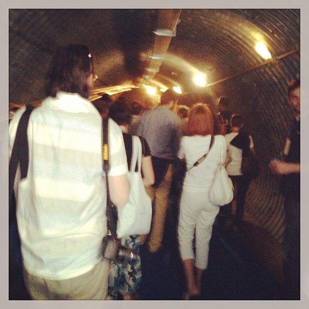 Difficile uscire dal tunnel del vino @RoccadiFabbri #InMontefalco foto di @igersumbria