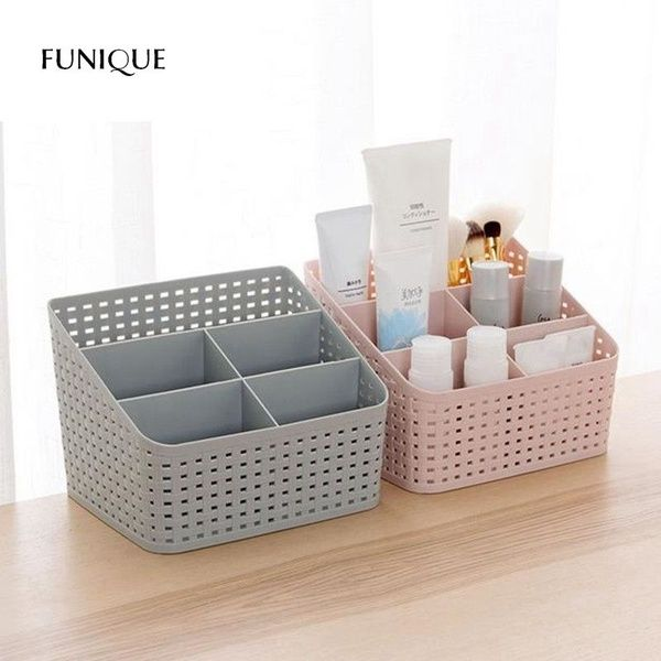 Plastic Makeup Organizer Storage Box Plastic Storage Drawers Cosmetic Storage Plastic Makeup Storage