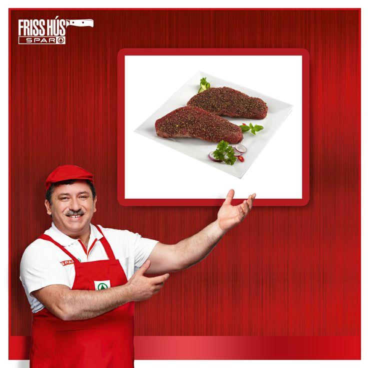A steaket borsos kéregben szeretem a legjobban! :)