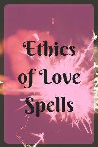 Ethics of Love Spells Image