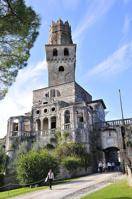 San Salvatore Castle - Susegana (Treviso), Veneto, Italy