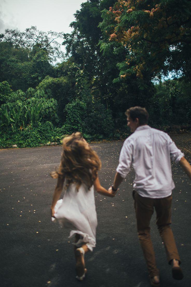 Oahu Hawaii Wedding Photography Photographers Love Engagement Ideas Travel Couple Romantic Nature Instagram: @hbybeee