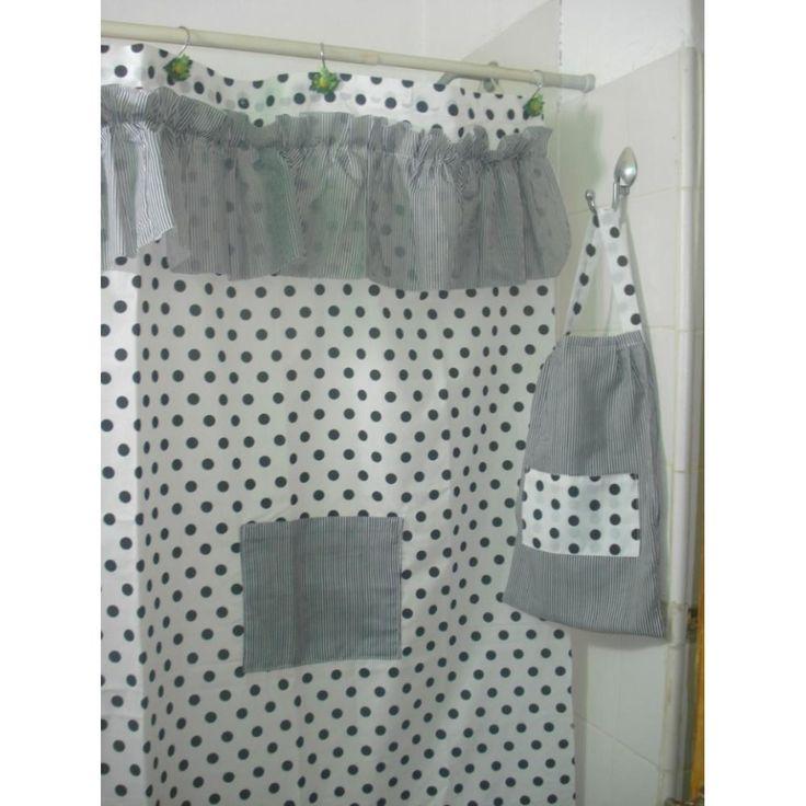 Cortinas bano tela para decorar cn estilo tu ambiente for Estilos de cortinas