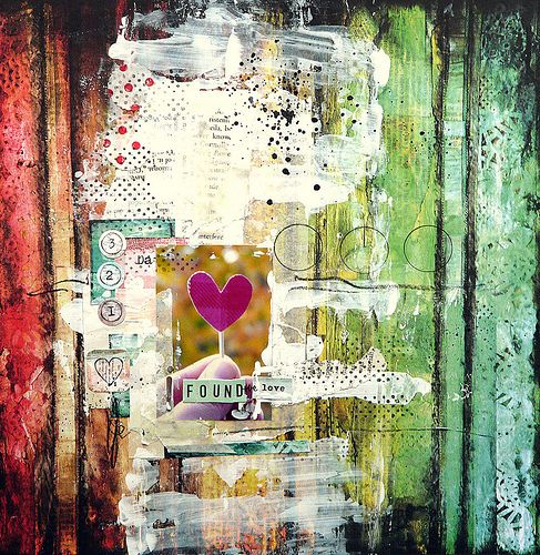 love the colors, texture on thisScrapbook Layouts, Art Journal Pages, Mixedmedia, Art Journals, Journals Pages, Art Piece, Journals Ideas, Mixed Media, Weights Loss