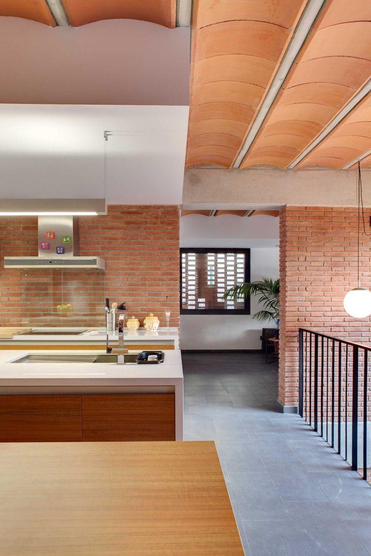 Casa unifamiliar en Alpicat (Lleida). Proyecto de 2009 en colaboración con Carles Enrich. Cocina.