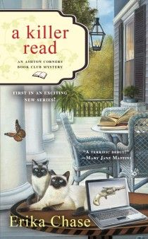 A cozy mystery with loads of references to other books (especially other mysteries).