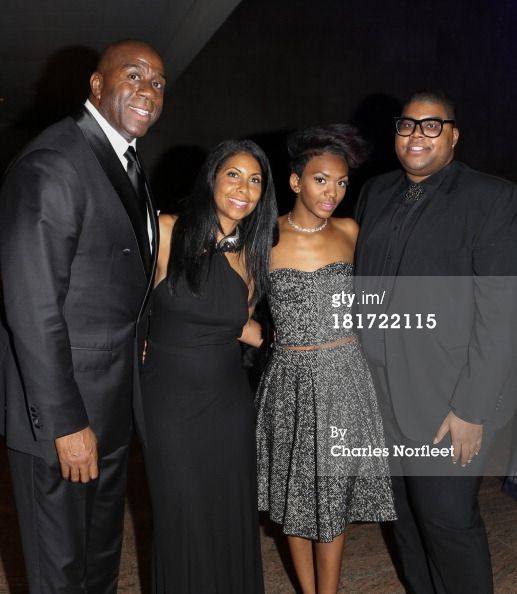 Magic Johnson and His Wife | News Photo: Earvin Magic Johnson Jr his wife Cookie their…
