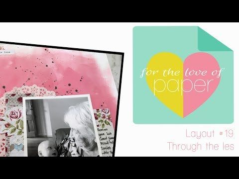 Layout Process video ~ #19 ~ Scrapping Fun Kits Design Team - YouTube