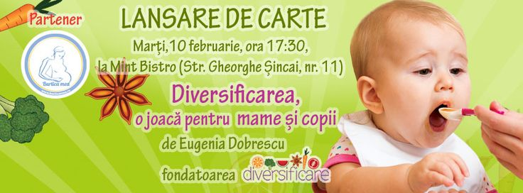Dragi părinți din Cluj, vă așteptăm cu drag la lansarea cărții Diversificarea, o joacă pentru mame și copii! https://www.facebook.com/events/864734753569203/