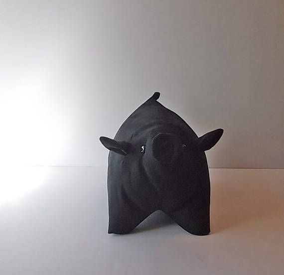 Check out this item in my Etsy shop https://www.etsy.com/listing/514303392/black-ebony-pig-pillow-handmade-stuffie