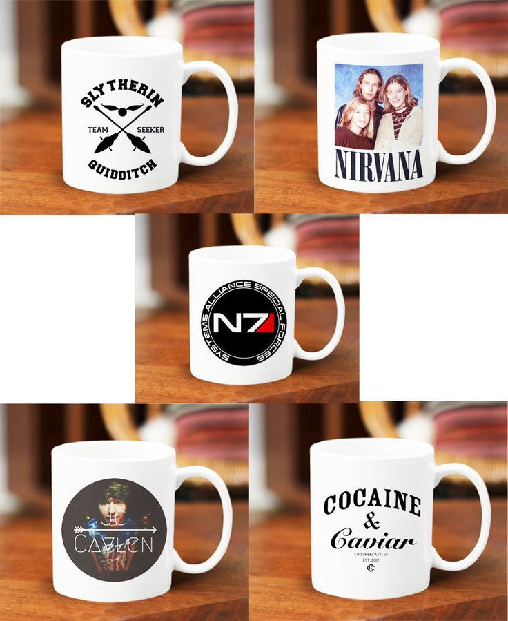 Harry Potter Slytherin Nirvana N7 Jc Caylen Cocaine and Caviar Mug 11 oz Ceramic #Handmade  #mug #mugs #custom #cup #coffee #tea #hot #harry #potter #spell #quote #mom #sister #couple #gift #band #magcon #5sos #twin #peaks