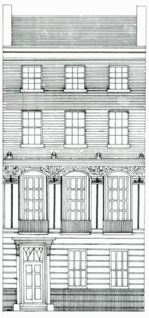 Georgian town house