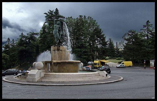 L'Aquila - Piazza Battaglione Alpini L'Aquila   #TuscanyAgriturismoGiratola