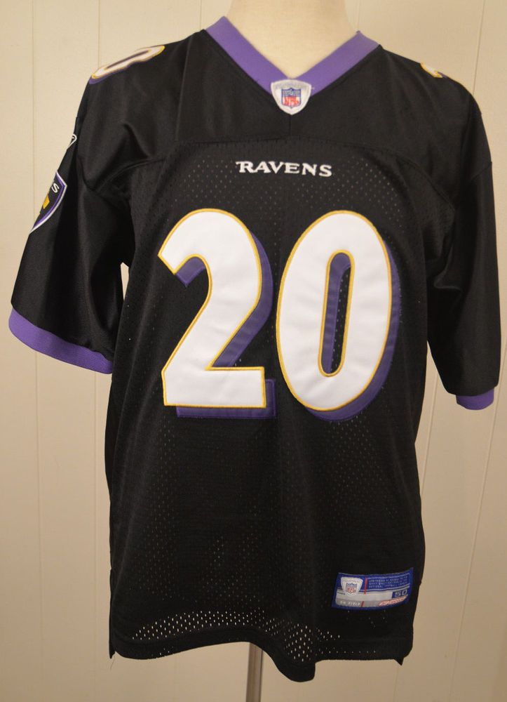 a2dc2e1c Authentic Reebok Baltimore Ravens Jersey #20 Ed Reed NFL Size 50 ...