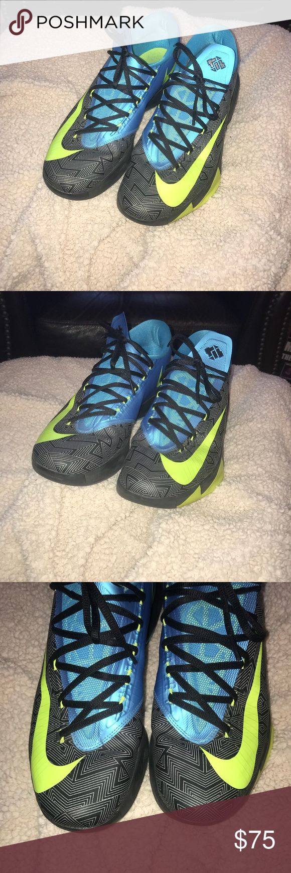 Nike KD VI Away II Nike KD VI Away II, used but in great condition. Only worn a few times. Size 12. Nike Shoes Athletic Shoes
