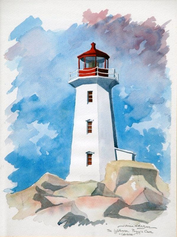25 Simple And Easy Lighthouse Painting Ideas For Beginners
