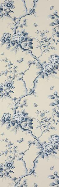 Ralph Lauren signature wallpaper: Designers Guild