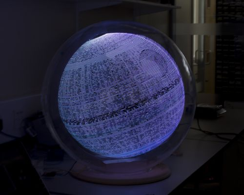 Interactive Persistence of Vision Globe website from the School of Electronic and Electrical Engineering team at the University of Leeds. Powered by a Raspberry Pi!