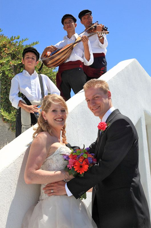 Traditional Music For Your Wedding Santorini Package