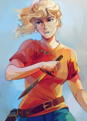 Annabeth Chase – Rick Riordan | art by viria Happy Birthday Annabeth Chase!! And thank you Rick Riordan!! For making someone who is just so amazing!