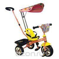 """Трехколесный велосипед Navigator Trike """"Ранетки"""", цвет: розовый, желтый. Т54161  — 9310р.  Детский яркий велосипед Navigator Trike """"Ранетки"""" выполнен из высококачественной пластмассы и украшен рисунками с изображениями любимых героинь группы """"Ранетки"""". Велосипед станет любимым средством передвижения вашего малыша и отлично подойдет для прогулок. Это современный, стильный и красочный велосипед, созданный для маленьких детей, которые еще не так уверенно держат равновесие и не могут управлять…"""