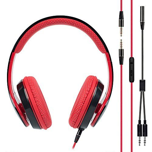 Special Offers - BAKTH Stereo PC Wired Over-Ear Gaming Headset Headphone Earphone Virtual 7.1 Surround Sound with In-line Microphone Volume Control for Computer Laptop Macbook Tablets Smartphones Cellphone Review - In stock & Free Shipping. You can save more money! Check It (December 03 2016 at 03:24PM)…