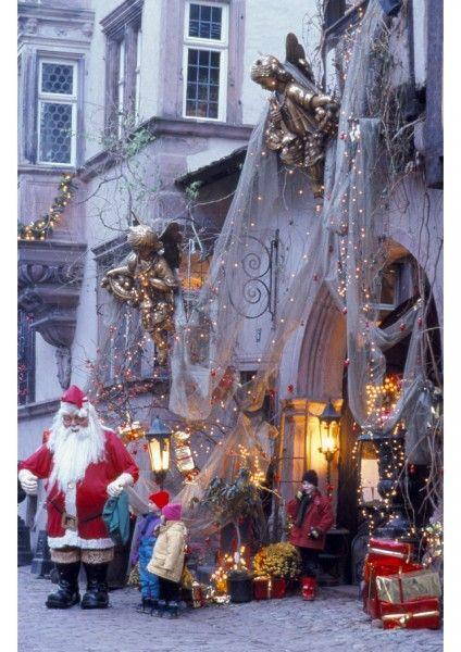 808 best christmas around the world images on pinterest for Decoration de noel en alsace