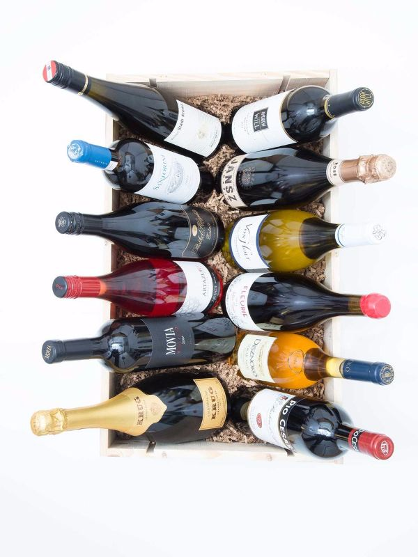The Perfect Case of Wine | Wines serve different purposes. There are warm-weather wines, wines to savor by the fireplace, wines to open with neighbors, wines to keep for yourself. And you don't need a vast collection to cover them all, just a few carefully chosen bottles.