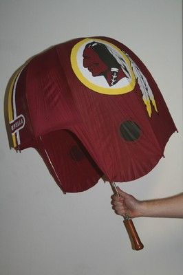 NFL Washington Redskins Helmet Shaped Umbrella | eBay