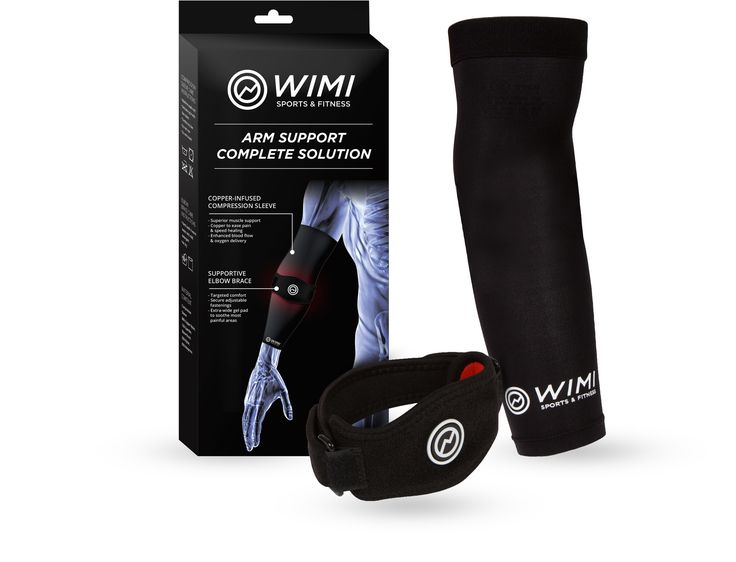 Best Tennis Elbow Brace & Copper Compression Elbow Sleeve Duo