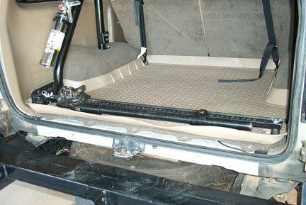 Toyota 4Runner Cargo Area (1996 to 2002) $50.00 & 12.65 USPS - $62.65 : Sonoran Steel, Sonoran Steel Custom Metal Fabrication L.L.C. Custom Toyota Truck Parts