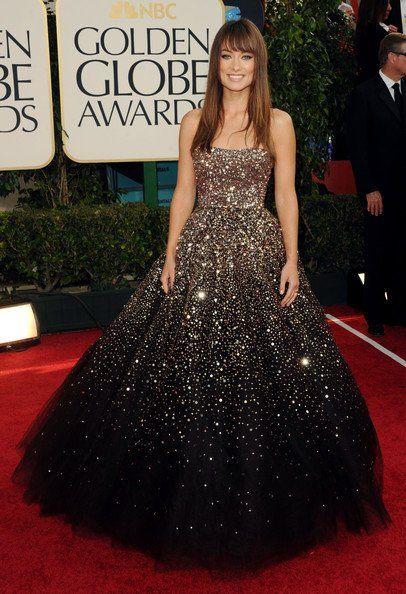 My favorite one by Marchesa - Olivia Wilde  #likewearinguniverse #stunning
