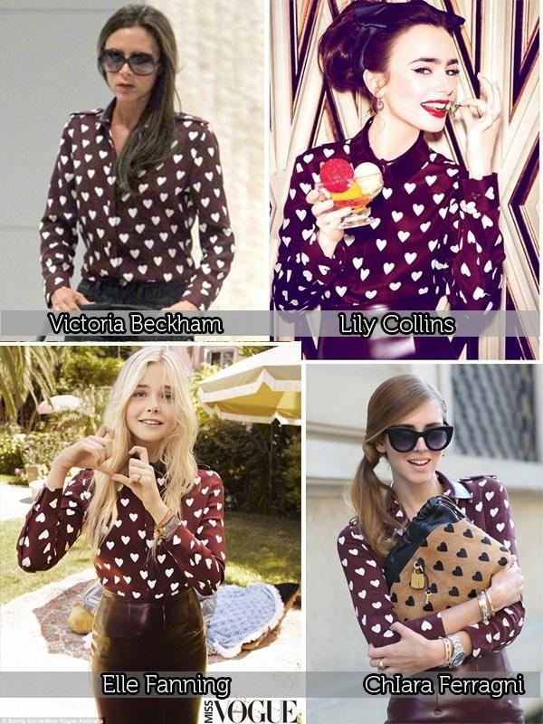 Burberry inspired. Camicia burgundy fantasia cuori, con colletto a contrasto.