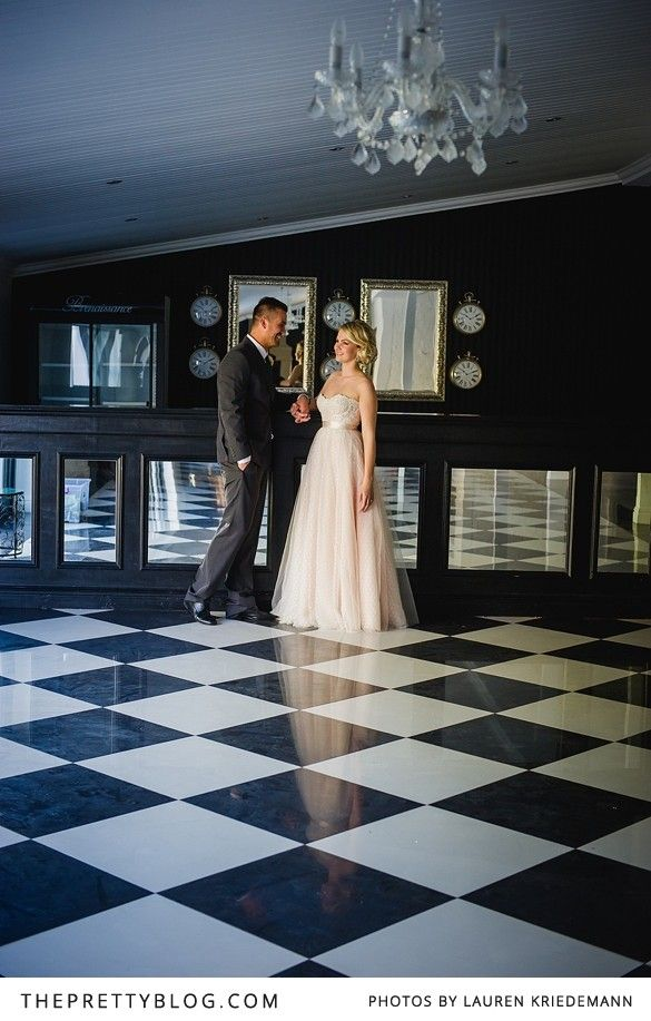 Black & white venue, beautiful couple | Photographer: Lauren Kriedemann, Wedding Dress: Janita Toerien, Groom's suit & tie: Fabiani, Venue: Brenaissance Wine Estate & Stud