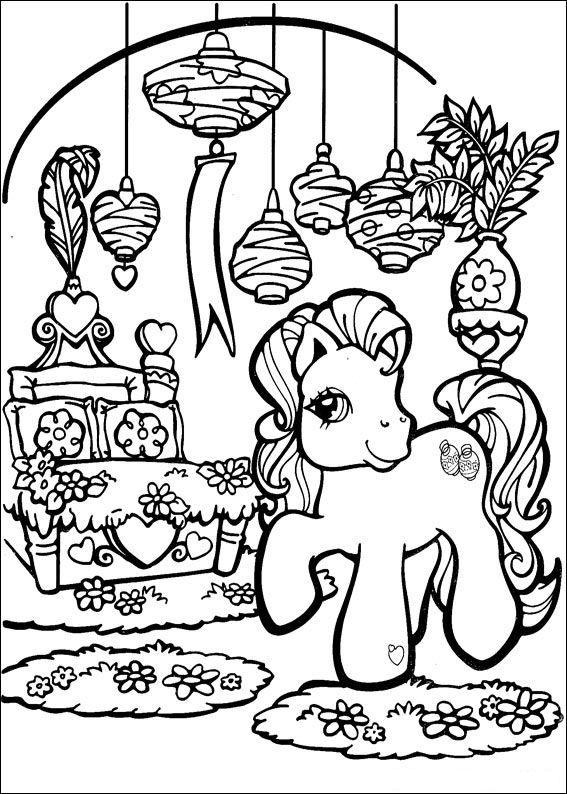 70 disegni da colorare di my pony disegni da