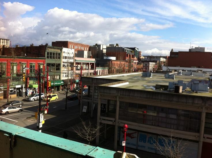 View of the Chinatown neighbourhood
