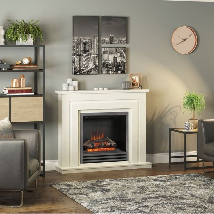Be Modern Whitham 48 Electric Fireplace Suite Luxury Bedroom