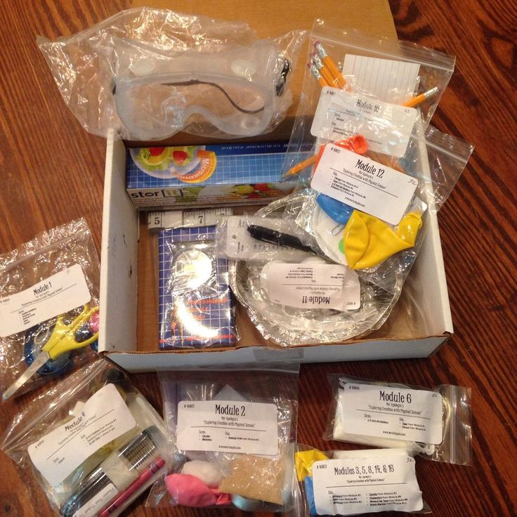 Apologia Physical Science Experiment Kit, Lab Supplies