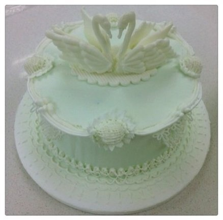 Royal Icing Cake  Cake by Sally