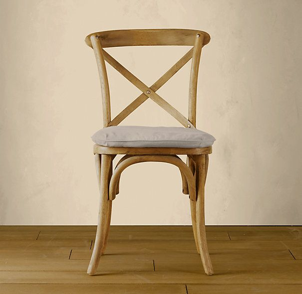 RHs Madeleine Side ChairModeled After The Most Popular Caf Chair In Europe Our Versatile X Back Dining Pays Homage To Bentwood Tradition