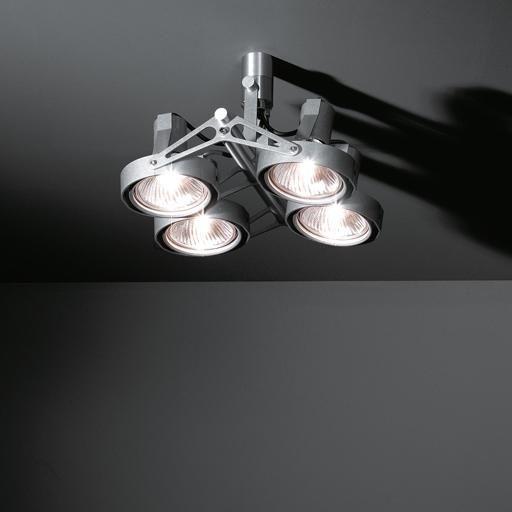 Modular Lighting Nomad 4x PAR30 circa 600 euro. verlichting lights spots inbouwarmatuur plafond lampen dekru geen Philips