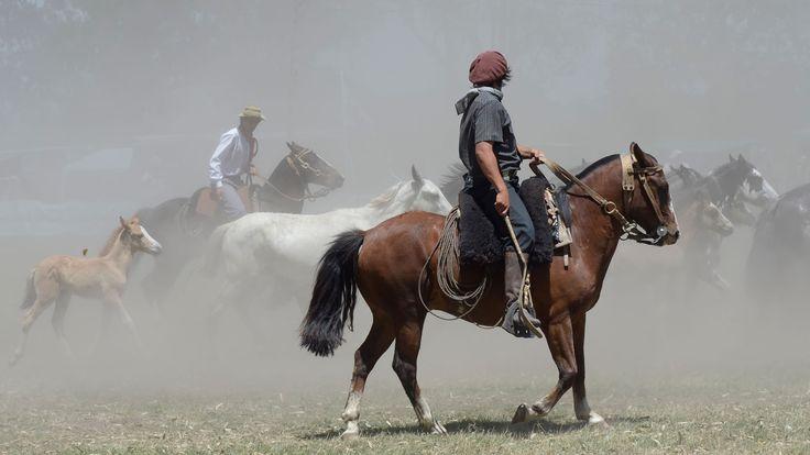 Traje masculino de gaucho argentino