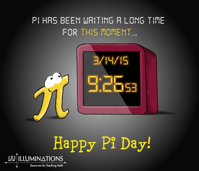 Pi has been waiting a long time for this moment!