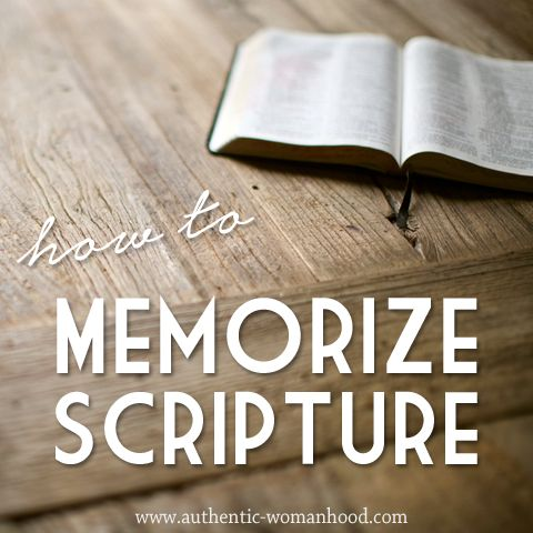 Fun & Easy Way To Memorize Bible Verses (Step-By-Step)