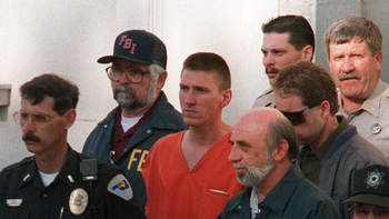 Timothy McVeigh was found guilty on 11 counts dealing with the bombing of the Alfred P. Murrah Federal Building in Oklahoma City, Oklahoma. The 1995 blast, was, up to this date, the worst terror attack on American soil, killing 168 people and injuring more than