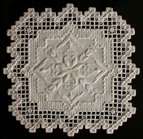IMG_7405 | Bruce Wahl, Hardanger Embroidery | anderskj | Flickr