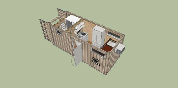 The 20 Bunkhouse Design Is Ideal For A Stand Alone