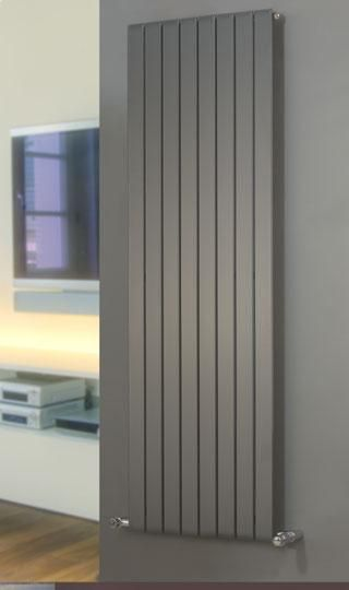 Brolin Radiators Malmo Vertical Single Flat Panel Radiator Cast Iron Radiators - Period Radiators, Traditional Radiators, Designer Radiators, Contemporary Radiators, Modern Radiators UK