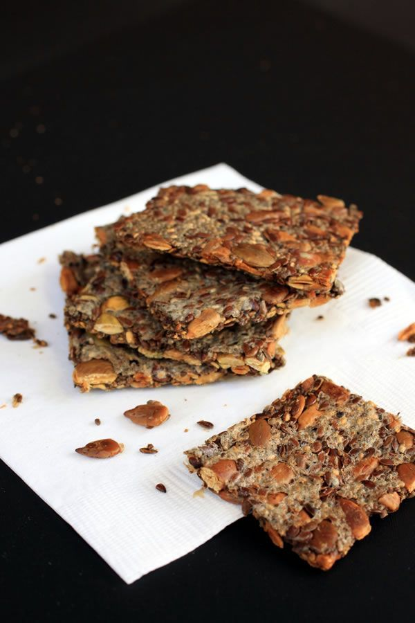 This recipe for Multi Seed Crackers is vegan and gluten-free, but mostly so delicious you might never buy processed crackers again.